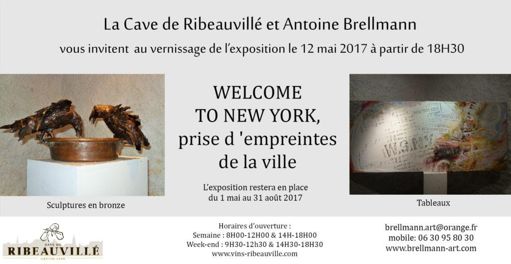 Flyer Vernissage Welcom to New-York